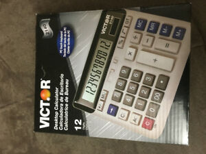 NEW !!!!   12 Digits Desktop Calculator by Victor