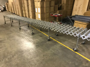 Nestaflex Expandable Portable Conveyor