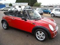 2008 Mini 1.6 One Convertible Chilli Pack 78K Red Stunning Car