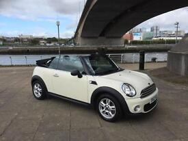 2012 MINI Convertible 1.6 One Avenue 2dr