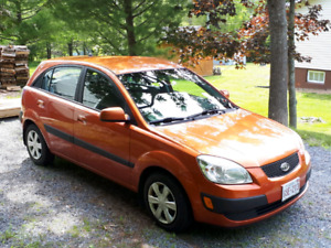 2007 Kia Rio5 EX with Convenience package