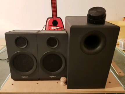 Logitech Computer Speakers In Good Condition