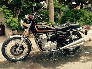 Moto CB 750 four 1978 à vendre