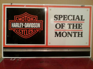 Original Harley Davidson Metal Dealer Sign