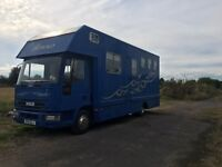Ford Iveco 51 Plate Horsebox 7.5t
