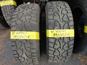 2 winter tire 195/65/r15