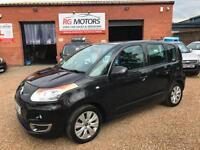 2011(60) Citroen C3 Picasso VTR+ 1.6 HDi 8v, Black, 5dr MPV, **ANY PX WELCOME**