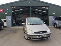 2003 Ford Galaxy 1.9TD MANUAL DIESEL Zetec PX TO CLEAR