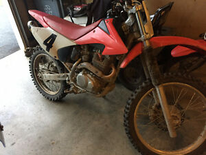09 crf230f trade for atv