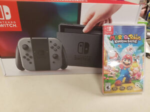 LIQUIDATION DEAL ON BRAND NEW NINTENDO SWITCH + MARIO GAME