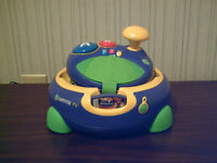 LeapFrog Leapster TV Learning System + 3 games used