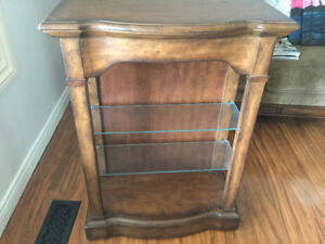 Beautiful Wood Display Cabinet for $75.00