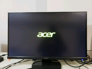 "Acer 27 "" Monitor Barely Used with Box"