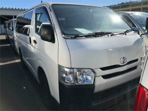 2014 Toyota HiAce KDH206R UPGRADE 2014 4WD Dual Door Mrs Beasty White Automatic Camper West Ryde Ryde Area Preview