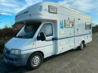 Auto Trail Scout for Sale Six Berth Four Seatbelts 4000kg Gross Satellite System