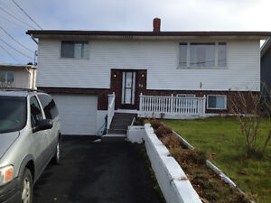 Full House for Rent with Single Garage  $1200 Plus utilities