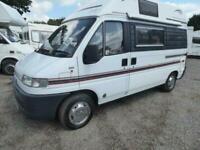 Swift Mondial camper Van
