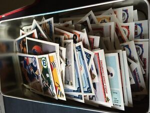 Tin full of 200+ pcs Upperdeck 1990s Cards- LOOK
