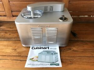 CUISINART SUPREME COMMERCIAL QUALITY ICE-CREAM MAKER