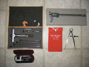 ASSORTED MACHINIST TOOLS