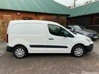 Citroen Berlingo 1.6HDi 75ps L1 625 2014 Enterprise White Long MOT