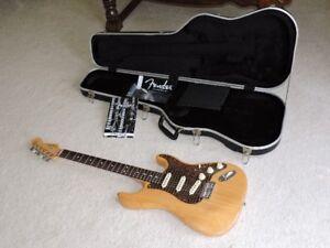 Fender Stratocaster Natural Ash guitar for sale