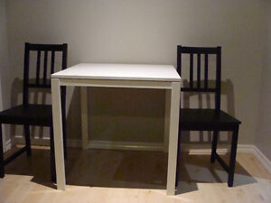 STURDY IKEA TABLE PLUS 2 CHAIRS $35.