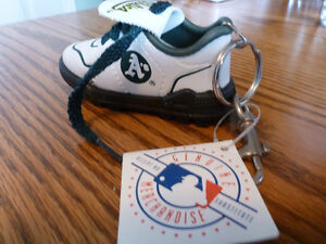 Oakland Athletics Shoe Keychain with Tags still attached!