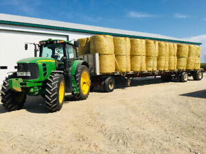 Clean Wheat Straw Round Bales for sale