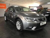 2014 Seat Leon 1.2 TSI SE (Tech Pack) SportCoupe 3dr Petrol DSG (s/s) (112