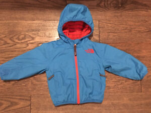 The North Face reversible coat, 6-12M