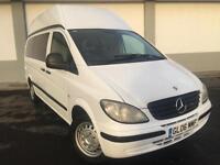 2006 06 Mercedes-Benz VITO 115 CDI LONG HIGH ROOF CAMPER VAN