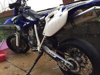Yamaha Yzf 426 supermoto road swap transit mk7! Ktm, modified, road,
