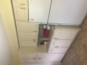 Solid Oak Kitchen Cabinets Must Go!!!