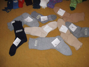 TOQUE & MITT SETS, SOCKS &  MITTS SEE LIST & PRICES