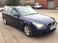 BMW 525 2.5 DIESEL SE,HPI CLEAR,FULL LEATHER,CRUISE,SENSORS,1 YEAR M.O.T,2 OWNER