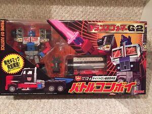 Takara G2 Prime of Justice Optimus Prime.