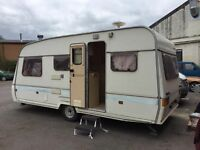 Swift Challenger 490/5S 5 Berth Caravan with satellite television