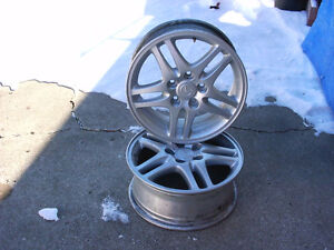 TWO 16 inch ALLOY RIMS for MAZDA 3 / 5 London Ontario image 2