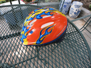 Adjustable Kid's Child Bicycle Helmet Excellent Condition