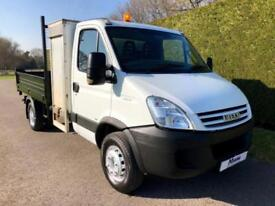 2009 09 IVECO-FORD DAILY 3.0 65C18 TIPPER * REAR TOOLBOX AND HIAB CRANE * DIESEL