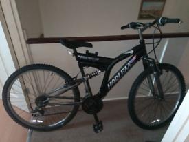 Mountain bike 17 inch customized frame