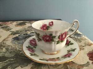 Royal Adderley china cup and saucer