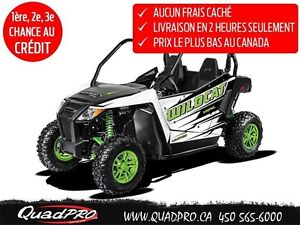 2017 Arctic Cat WILDCAT TRAIL LIMITED EPS 57,08$/SEMAINE