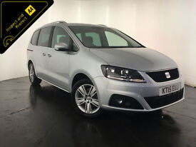 2015 SEAT ALHAMBRA SE ECOMOTIVE TDI 7 SEATS 1 OWNER FINANCE PX WELCOME