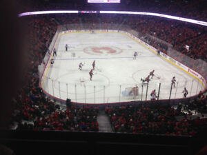 CALGARY FLAMES vs TORONTO MAPLE LEAFS (2 TICKETS)