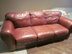Palliser Leather Couch -  Good Condition!
