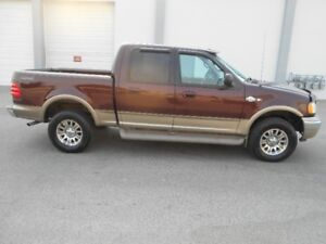 2002 Ford F-150 King Ranch Auto 4x4 Pickup Truck Crow Cab