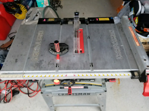 10 inch Craftsman table saw.