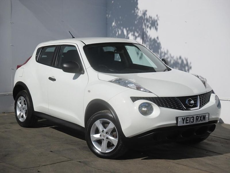 2013 nissan juke 1 5 dci visia 5dr diesel white manual in cambridge cambridgeshire gumtree. Black Bedroom Furniture Sets. Home Design Ideas